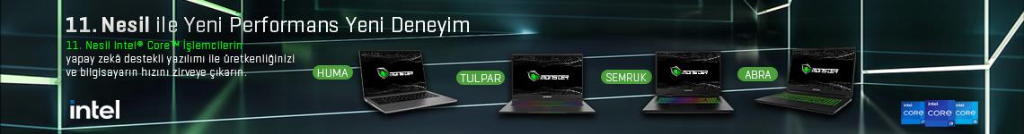 11. Nesil İşlemcili Laptoplar