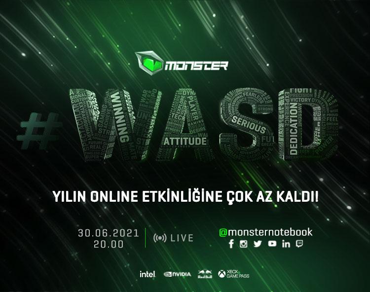 Monster #WASD ile geleceğe yön ver!
